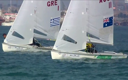 2014ISAF Sailing World Cup Final Mens Winner Mat / Will AUS