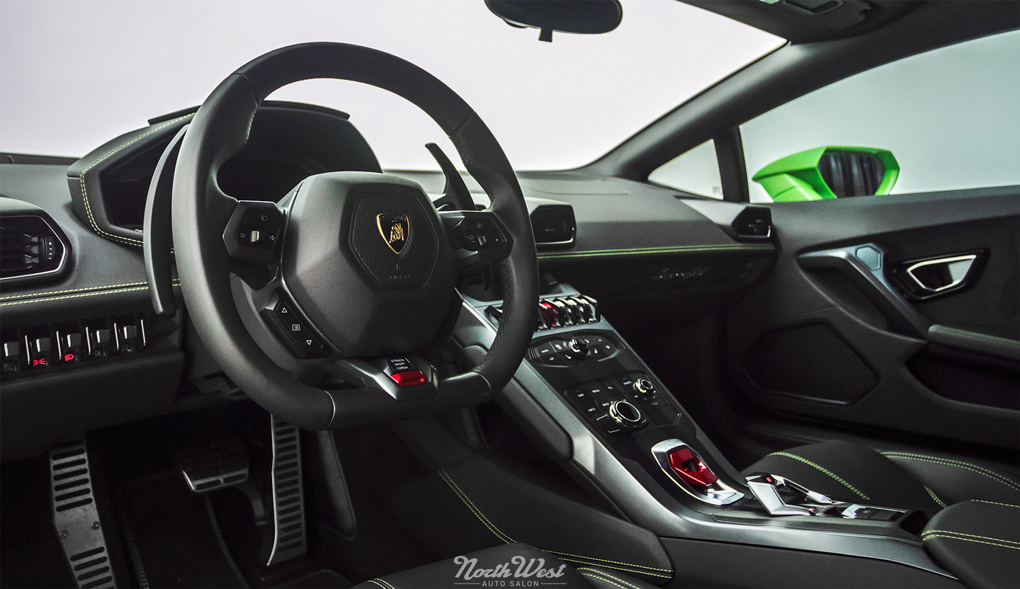 lamborghini huracan xpel stealth ppf wrap new car detail seattle interior s. Black Bedroom Furniture Sets. Home Design Ideas