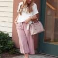 pink work wear