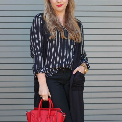 9 fashionable work wear tops