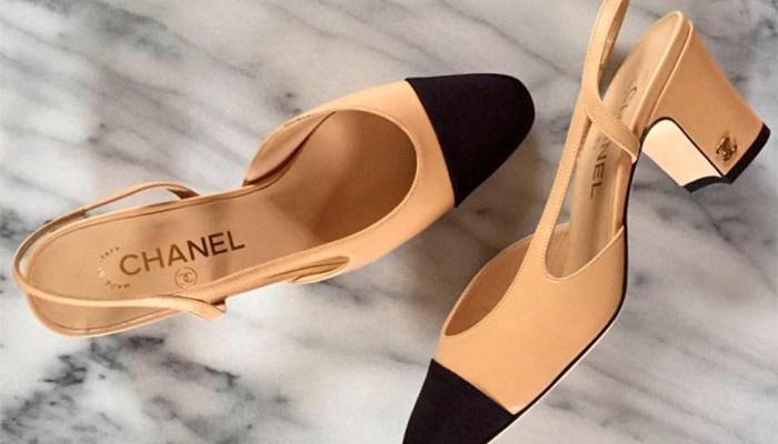 Designer Alternative: Chanel Cap Toe Slingback