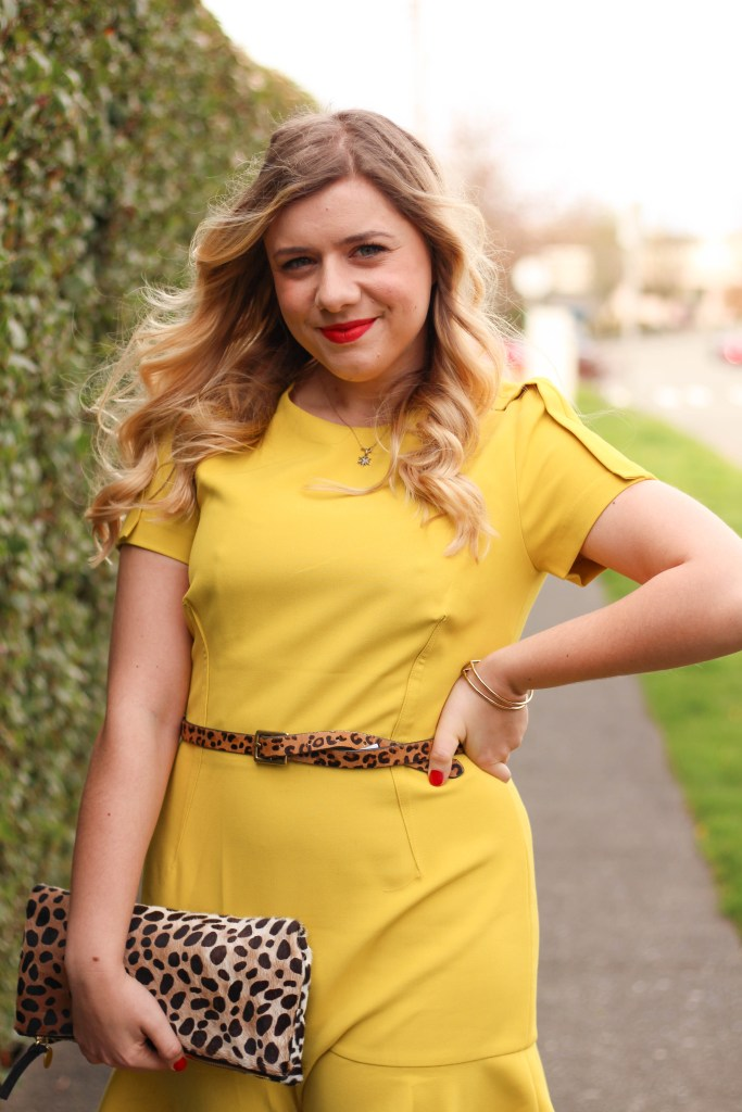 how to get 10k instagram followers - banana republic dress - clare v clutch - Easter outfit idea
