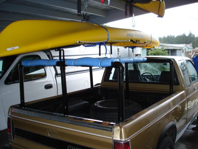 PVC Kayak Truck Rack Plans http://www.northwestkayakanglers.com/index ...