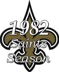 1982 New Orleans Saints NFL Season