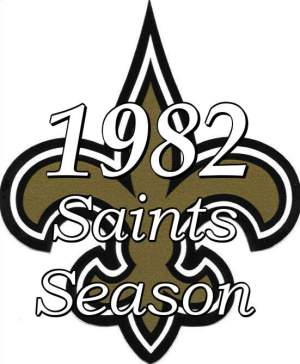 1982 New Orleans Saints NFL Season