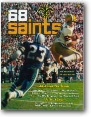 1968 New Orleans Saints Yearb