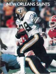 1984 New Orleans Saints Yearbook