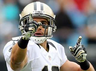 Top 10 New Orleans Saints Leaders - Most Yards Receiving in a Season