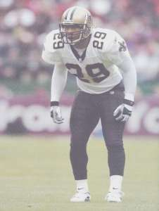 Sammy Knight of the New Orleans Saints