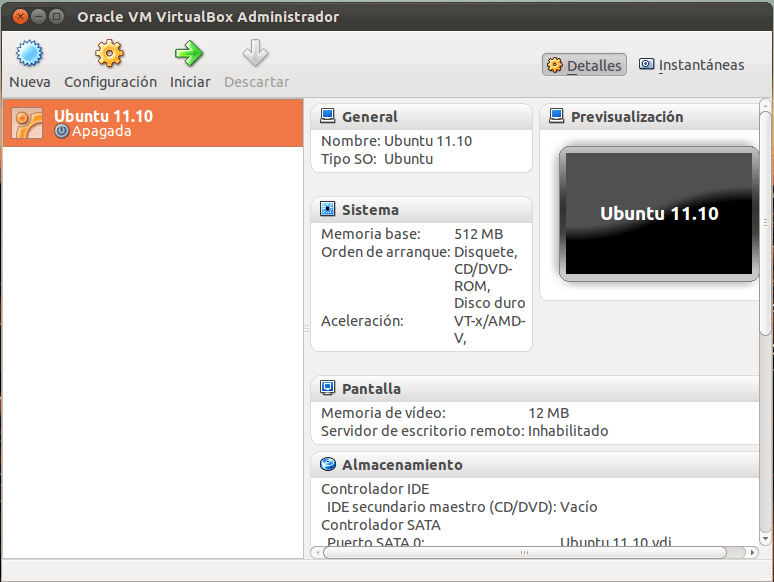 Optimizar el uso de VirtualBox