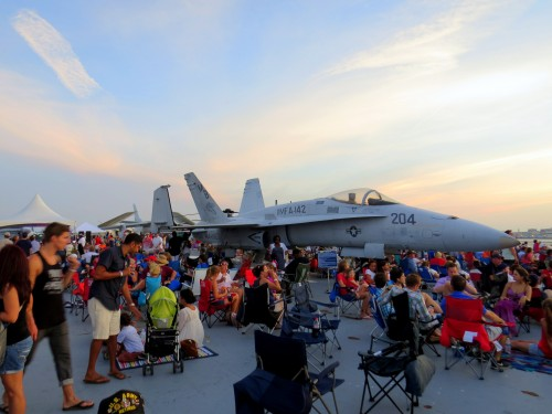 4th July - USS Yorktown