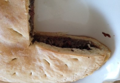 Recipe- Onion, Olive, and Anchovy Pie from Puglia