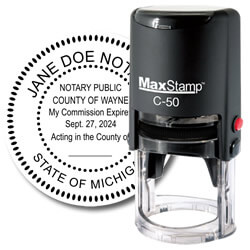 self inking notary stamp
