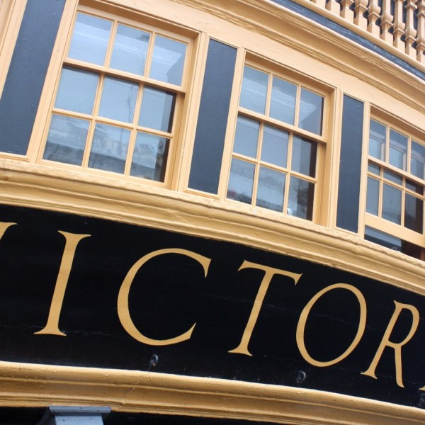 hms victory en Portsmouth
