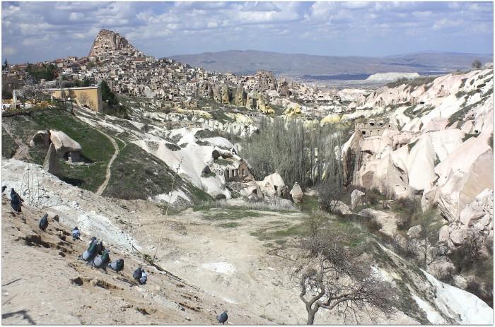 Valle de las palomas, Turquia