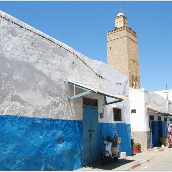 Dentro de la kasba de Rabat