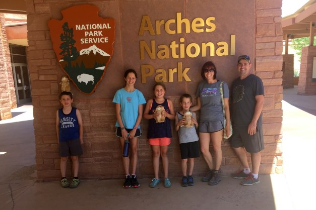 Cross Country Journal Days 10 and 11:  Arches National Park