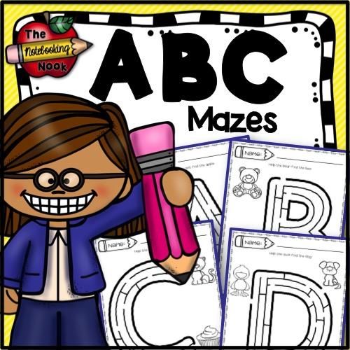 ABC Mazes