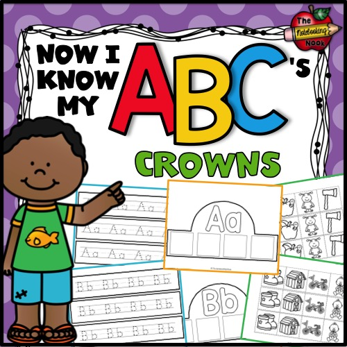Now I Know My ABC's Crowns