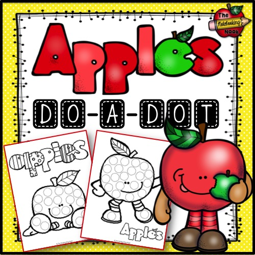 Free Apples Do-a-Dot