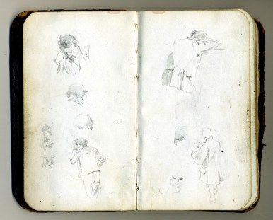 A Glimpse At Life A Century Ago Through The Sketchbook Of W.G. Read - Print Magazine
