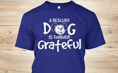 We got lots of dogs in New Orleans, and lots of dogs in the pound. Show your love with this this limited edition tee.