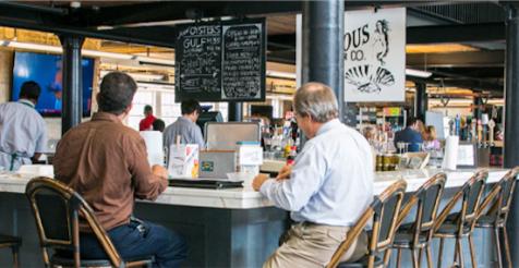 Dryades Street Market oyster bar