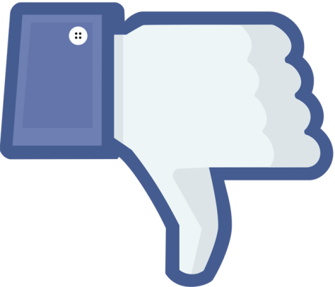 facebook thumbs down png image