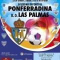 Ponferradina - Las Palmas 14 15 cartel