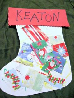 scrap paper stocking