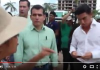 Video: Así corrieron a Diputado y comitiva del PVEM de #Tajamar