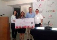 Dona HSBC $246,000 a fundación Palace