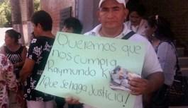 Líderes del PRI se manifiestan en contra de Raymundo King