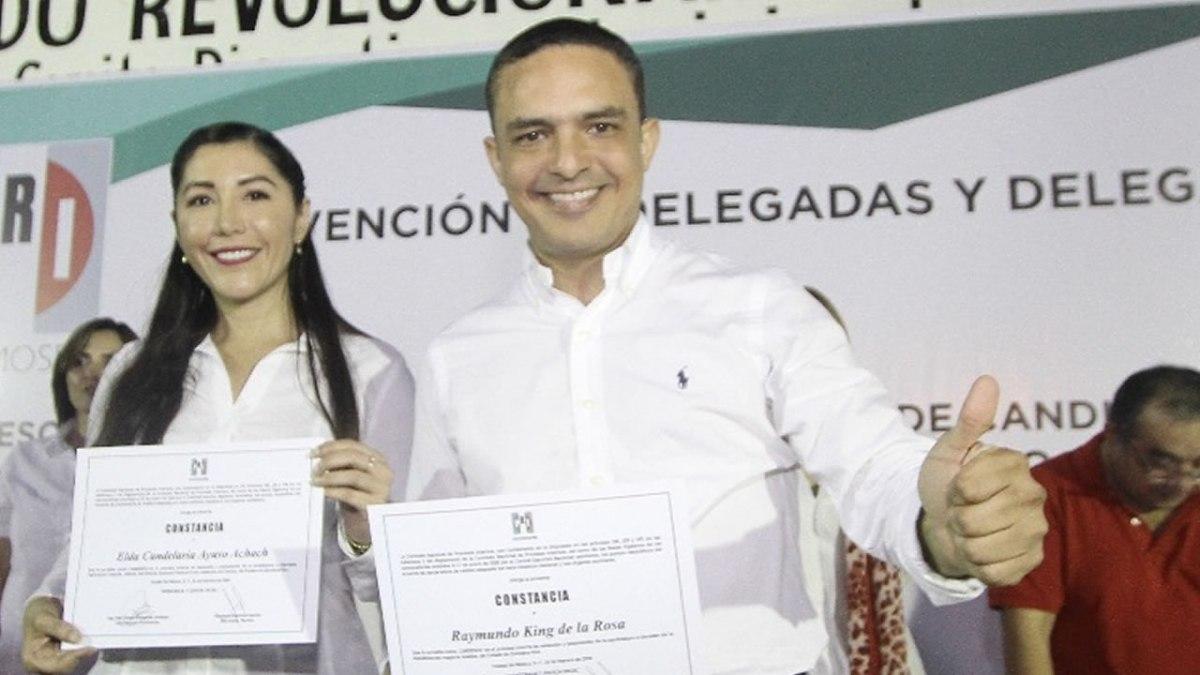 Raymundo King electo candidato al senado por el PRI en Quintana Roo