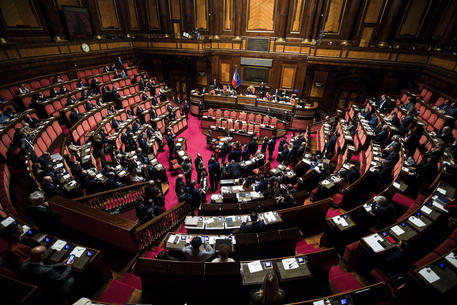 Discussione in aula al Senato del decreto sulle intercettazioni