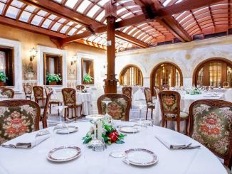 grand hotel del gianicolo sala pranzo