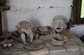 Various figures found in the Chirije Museum