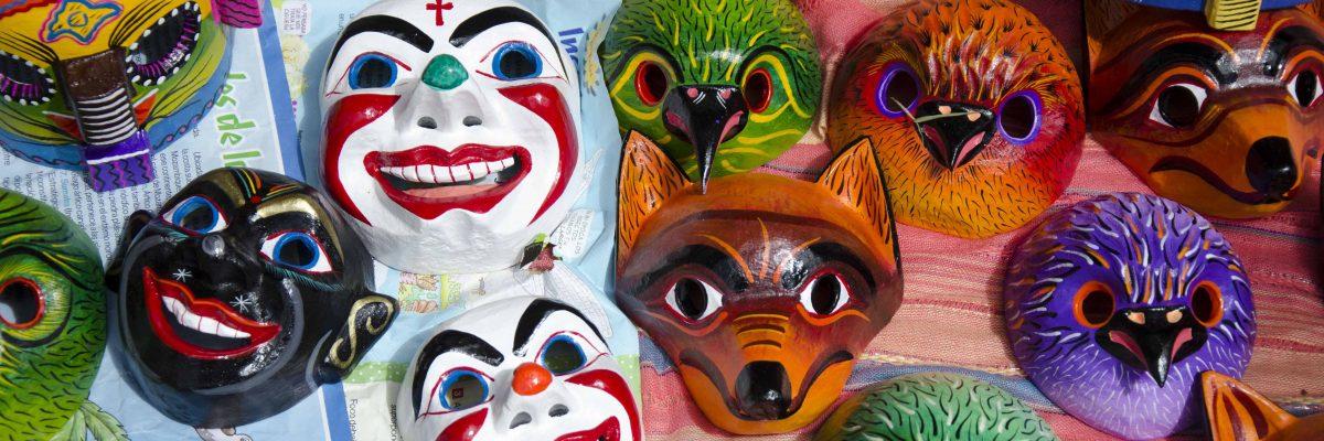 Several Masks from the workshop of Juan Manuel, Pujilí