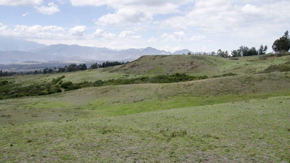 Ancient Pyramid at Cochasquí
