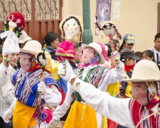 Carnaval in Guamote