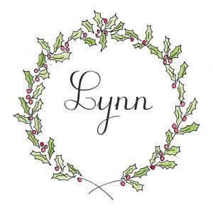 lynn in wreath