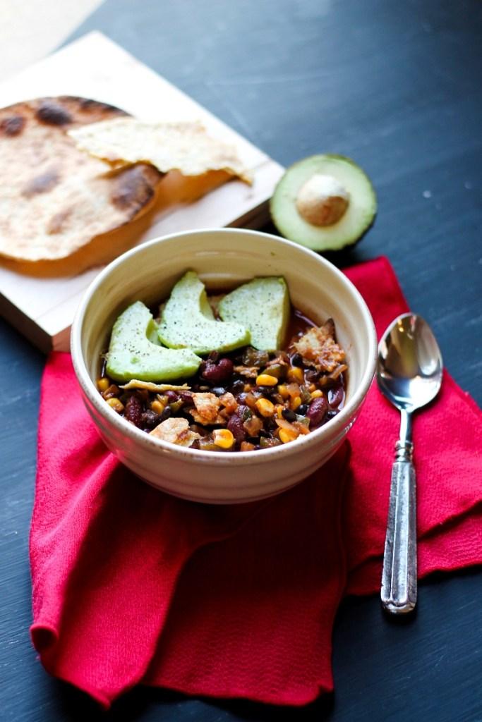 vegan 8 mexican chili