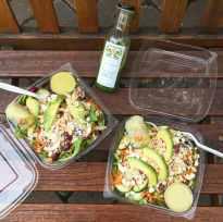 farmer's market salad {with creamy avocado-cilantro dressing ...