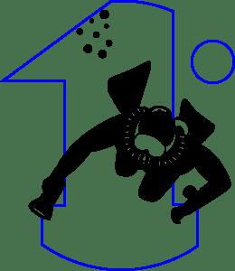 Logo Primo - Sub e 1 - Nero e Blu (260x300)