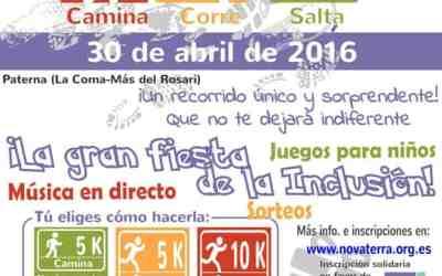 Más de 300 personas y 80 voluntarios/as participarán mañana en la I #Correcaminata Novaterra por la inclusión en el Barrio de La Coma