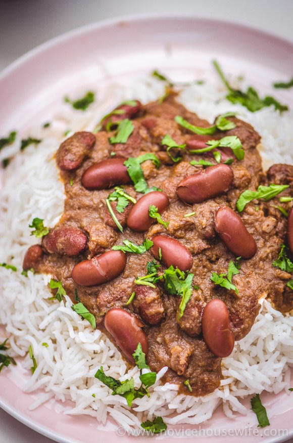 Punjabi rajma | The Novice Housewife