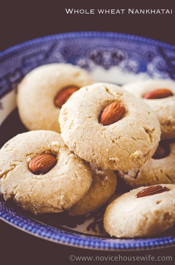 Whole wheat nankhatai   The novice Housewife