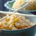 Cooking for one: Egg Fried Rice