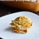 Individual Stacked Scalloped Potatoes
