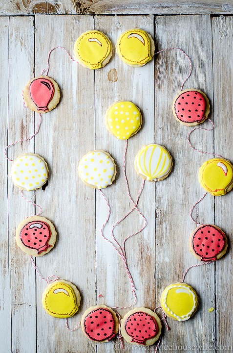 balloon sugar cookie-4